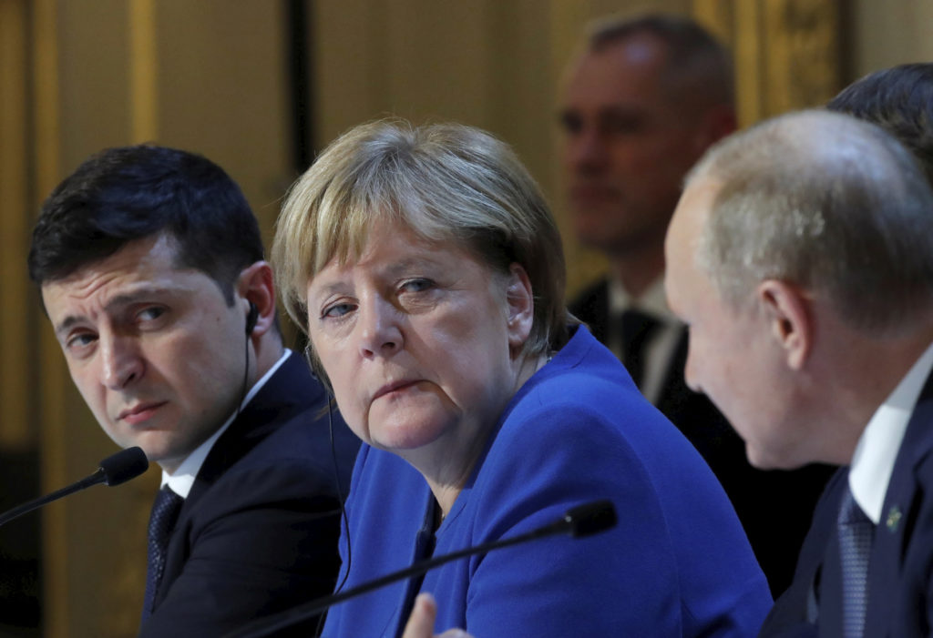 Μέρκελ-Πούτιν συμφώνησαν τηλεφωνικώς ότι στηρίζουν τον αγωγό Nord Stream 2