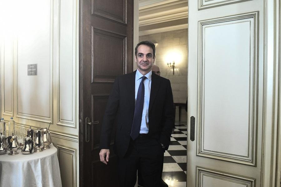 Συναίνεση στα εθνικά και επενδύσεις θα συζητήσει ο Μητσοτάκης στη συνάντηση με τον Τράμπ
