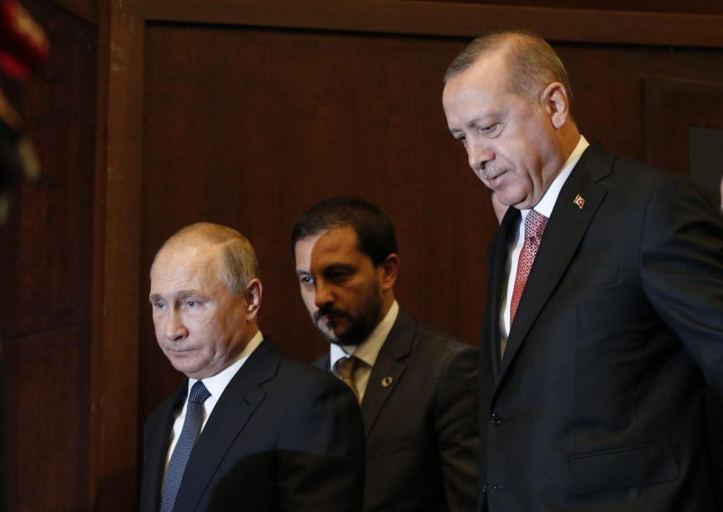 Πούτιν και Ερντογάν εγκαινιάζουν την Τετάρτη στην Κωνσταντινούπολη τον αγωγό Turkish Stream