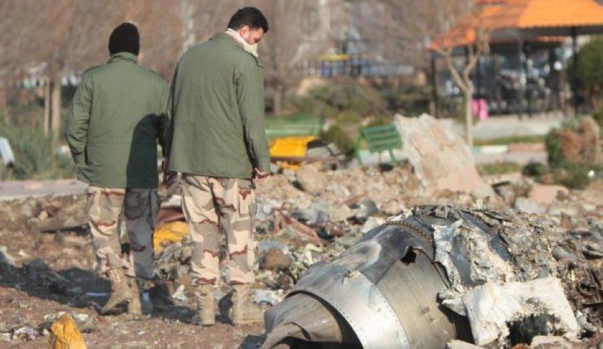 Ιράν: Παραδοχή από τον στρατό για «κατά λάθος» κατάρριψη του ουκρανικού Boeing