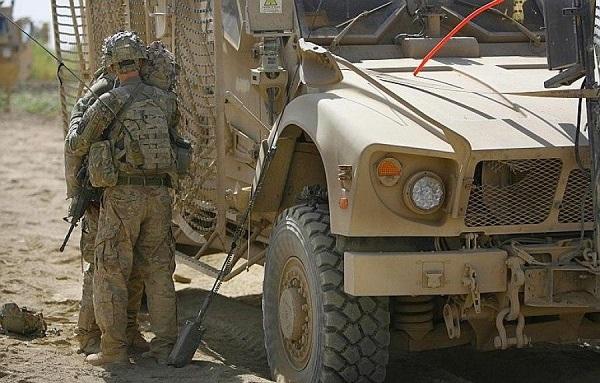 Αφγανιστάν: Αμερικανικό όχημα έπεσε σε βόμβα που εξερράγη