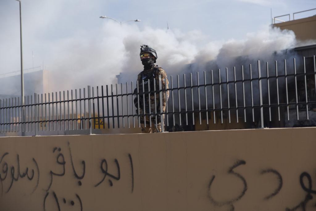 Ιράκ: Τρεις ρουκέτες έπεσαν κοντά στην αμερικανική πρεσβεία στην Βαγδάτη