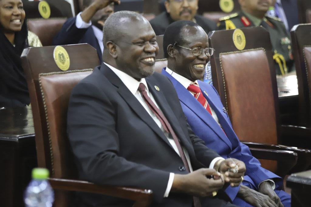 Ελπίδες για ειρήνευση στο Νότιο Σουδάν: Ο αρχηγός των ανταρτών Ρικ Μάκαρ ορκίστηκε αντιπρόεδρος