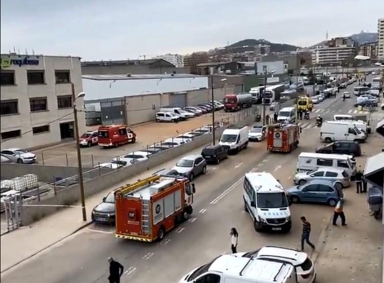 Έκρηξη σε εργοστάσιο χημικών της Βαρκελώνης – Ένας νεκρός