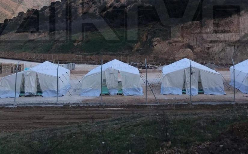 Σέρρες: Προχωρά η κατασκευή της νέας κλειστής δομής προσφύγων