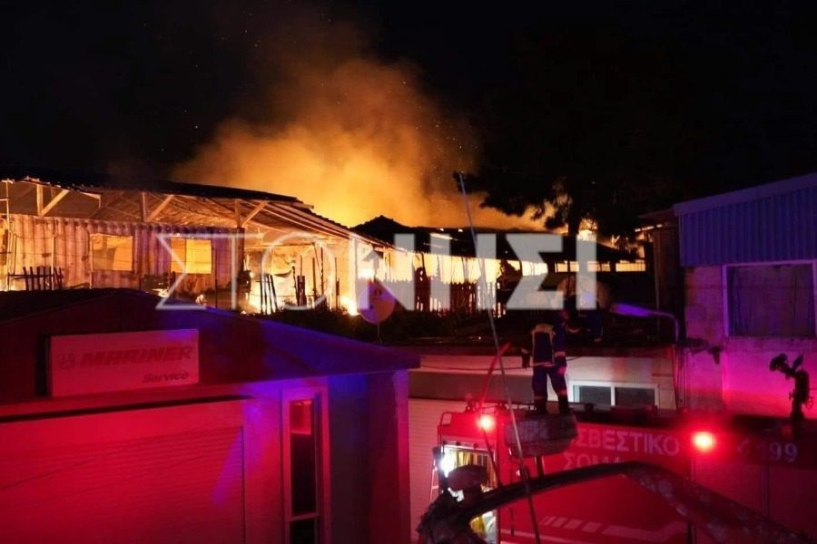 Λέσβος: Τρεις συλλήψεις για τη φωτιά στο «One Happy Family»