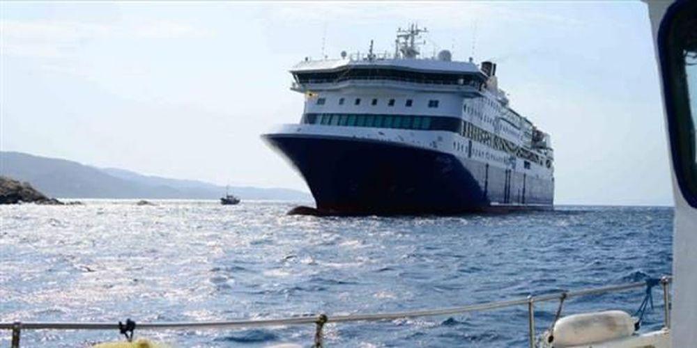 Νέα προσπάθεια αποκόλλησης του Blue Star Patmos (video)