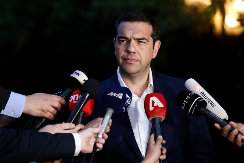 Αυστηρό μήνυμα Τσίπρα στην Τουρκία: Όποιος παραβιάσει τα κυριαρχικά δικαιώματα Ελλάδας και Κύπρου θα έχει συνέπειες (video)