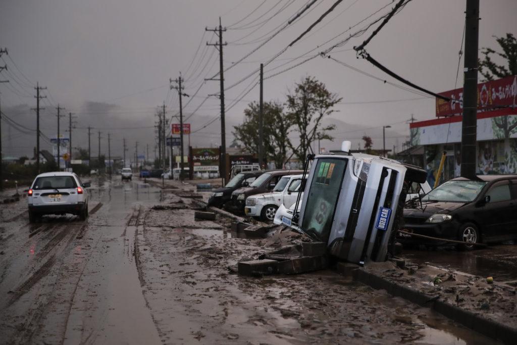 Ιαπωνία: Τουλάχιστον 56 άνθρωποι έχασαν τη ζωή τους από τον τυφώνα Χαγκίμπις
