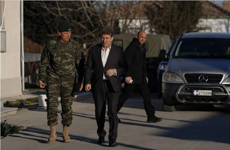 Χρυσοχοϊδης: Σε λίγους μήνες φράχτης στον Έβρο, δεν υπάρχουν προκλήσεις από Τουρκία!
