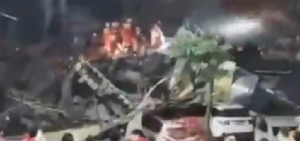 Κορονοϊός: Κατέρρευσε κτίριο στην Κίνα που ήταν γεμάτο ασθενείς σε καραντίνα! – Παγιδεύτηκαν στα ερείπια (videos)