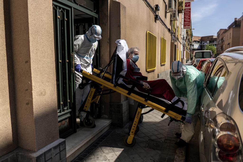 Κορονοϊός: 138 θάνατοι και  643 νέα κρούσματα το τελευταίο 24ωρο στην Ισπανία