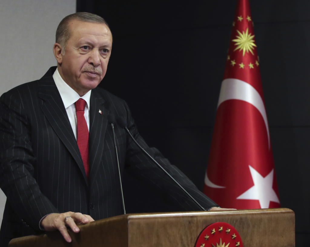 Νέο διάγγελμα Ερντογάν: Είμαστε πλέον προετοιμασμένοι ενάντια στον κορονοϊό