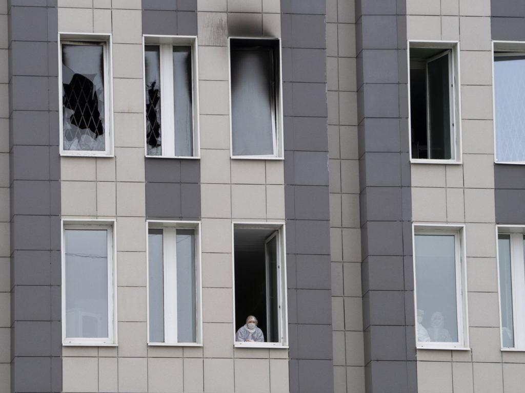 ΗΠΑ: Δεν χρησιμοποιούνται οι ρωσικές αναπνευστικές συσκευές που προκάλεσαν την πυρκαγιά στην Αγία Πετρούπολη