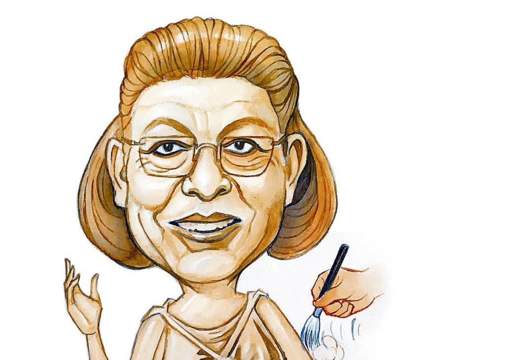 Λίνα Μενδώνη: Η υπουργός από μάρμαρο