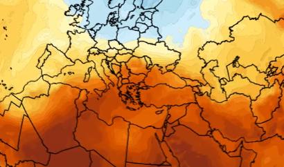Η Ανατολική Μεσόγειος «φλέγεται» – 10 βαθμοί η «απόκλιση» (Video)