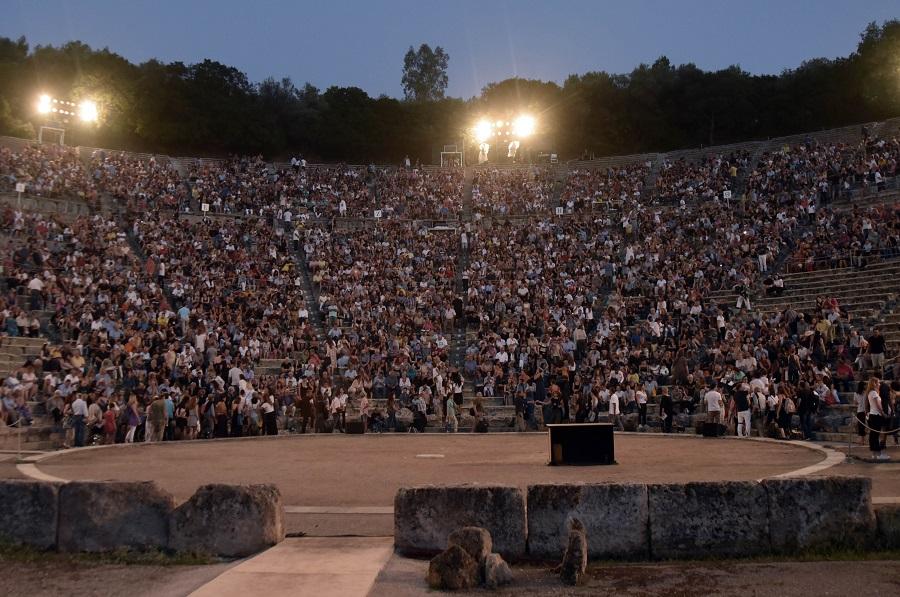 Εκδηλώσεις του Φεστιβάλ Αθηνών μόνο σε Ηρώδειο και Επίδαυρο