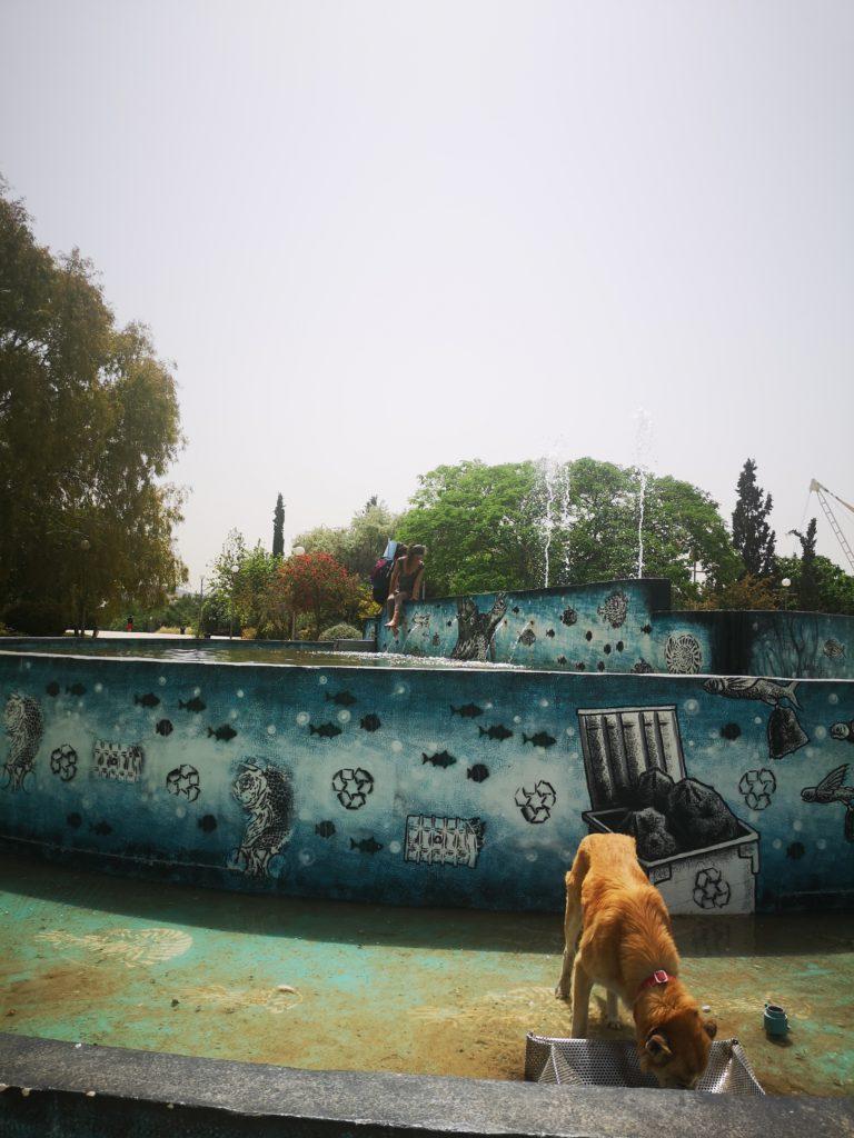Ο Πατούλης… ζήλεψε τον Μπακογιάννη και έφτιαξε το σιντριβάνι στο Πάρκο Τρίτση! (Photos)