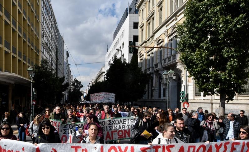 Νέο συλλαλητήριο της ΟΛΜΕ την Τρίτη 19 Μαΐου στα Προπύλαια