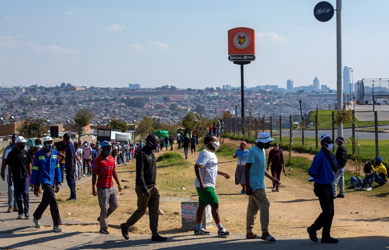 Νότια Αφρική: Έξαρση του κορονοϊού – Πάνω από 14.000 κρούσματα και 261 θάνατοι