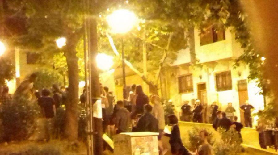 Θεσσαλονίκη: Αντιδράσεις για την αστυνομική επιχείρηση εκκένωσης πλατείας  στην Άνω Πόλη (video)