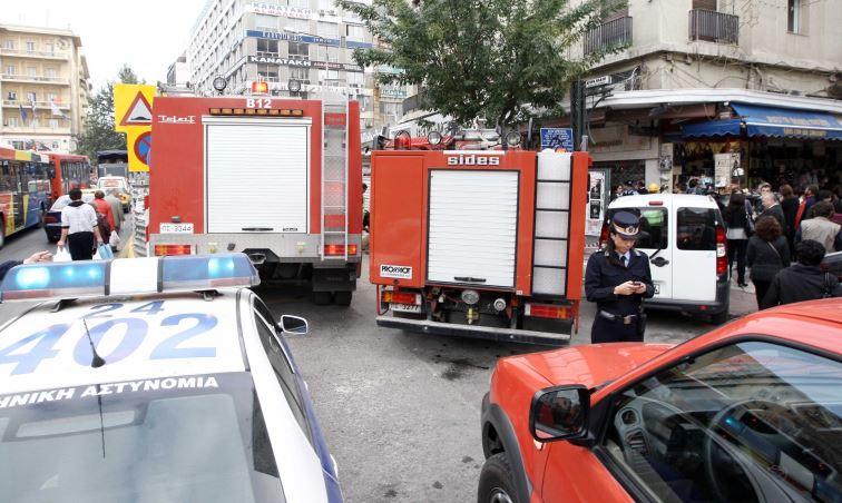 Συναγερμός από διαρροή αερίου σε πρατήριο της Θεσσαλονίκης