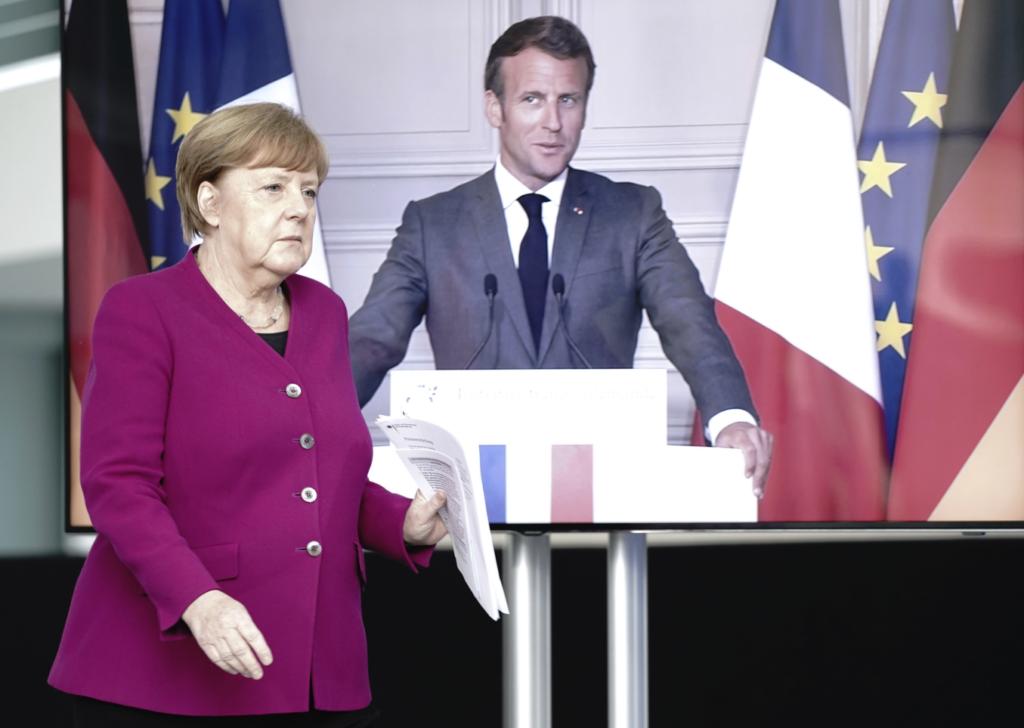 Μέρκελ και Μακρόν προτείνουν τη δημιουργία ταμείου στήριξης 500 δισ. ευρώ