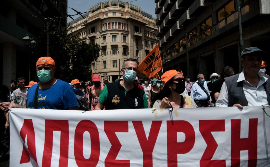 Αθήνα – Συλλαλητήριο: Να αποσυρθεί το αντιεκπαιδευτικό πολυνομοσχέδιο (Photos & Video)