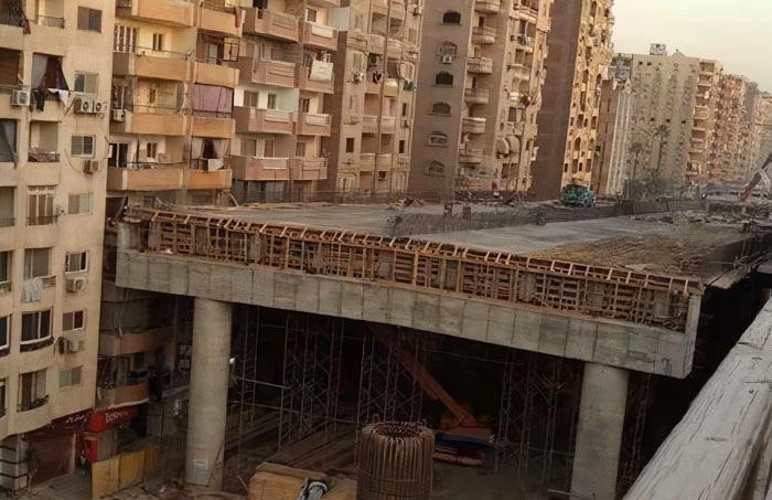 Κάιρο: Αντιδράσεις από ανισόπεδο κόμβο που φτάνει στα μπαλκόνια των σπιτιών (Video)