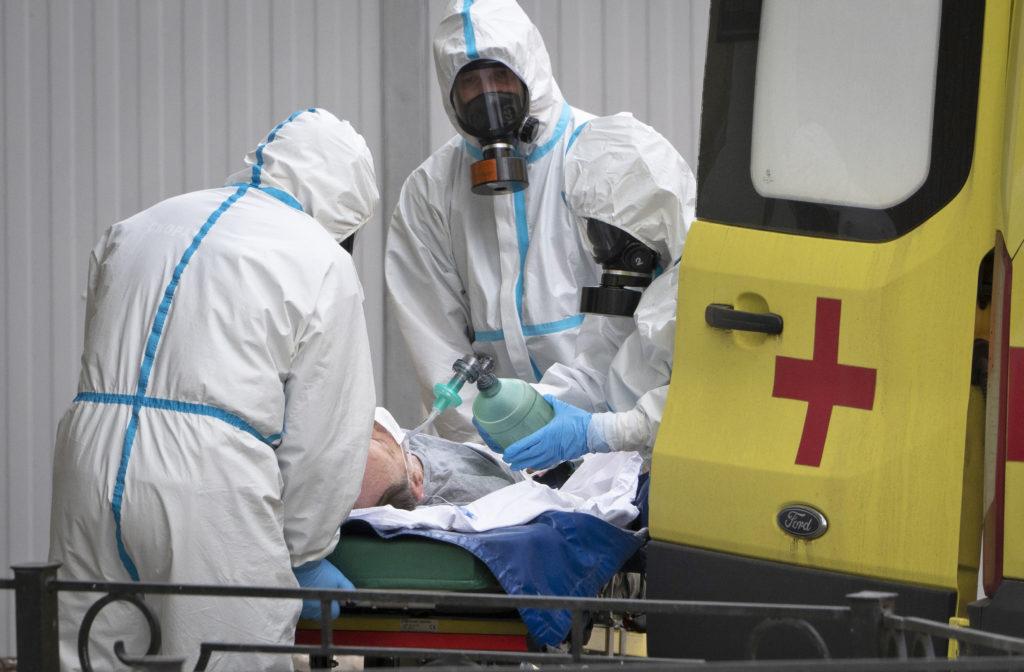 Κορονοϊός-Ρωσία: Μακάβριο ημερήσιο ρεκόρ με 154 νεκρούς