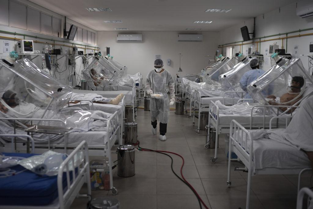 Θλιβερό ρεκόρ για τη Βραζιλία – Πάνω από 1.000 νεκροί από κορονοϊό σε 24 ώρες