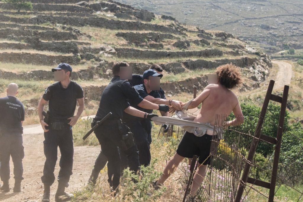 Συρμαλένιος: Απρόκλητη βία και καταστολή εναντίον του Τηνιακού λαού