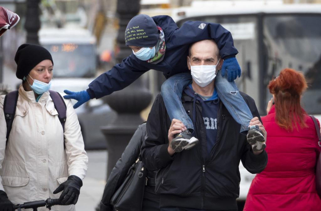 Ρωσία: Το ποσοστό των παιδιών που νόσησαν από κορονοϊό δεν υπερβαίνει το 7% του συνόλου των κρουσμάτων