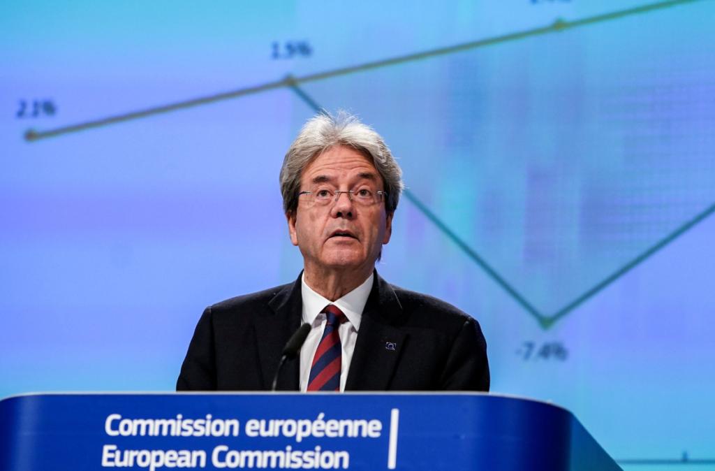 Ο Επίτροπος Τζεντιλόνι λέει «όχι» στην αντιμετώπιση της κρίσης μέσω λιτότητας