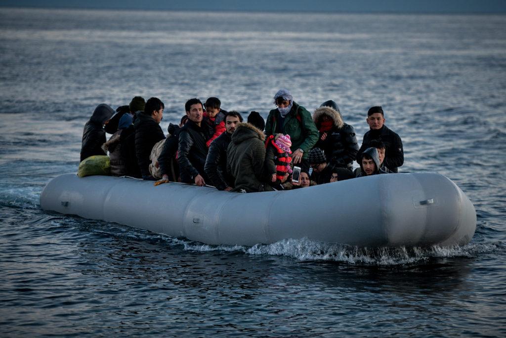 Δύο βάρκες με 67 πρόσφυγες πέρασαν στη Λέσβο