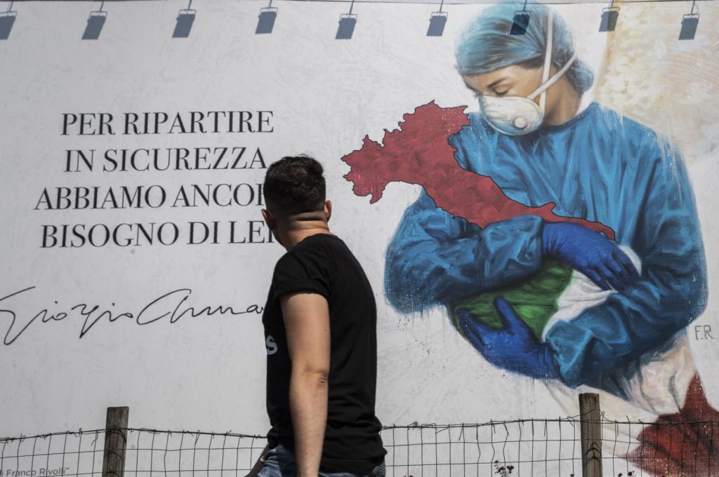 Ιταλία: 130 νεκροί και 652 νέα κρούσματα το τελευταίο 24ωρο