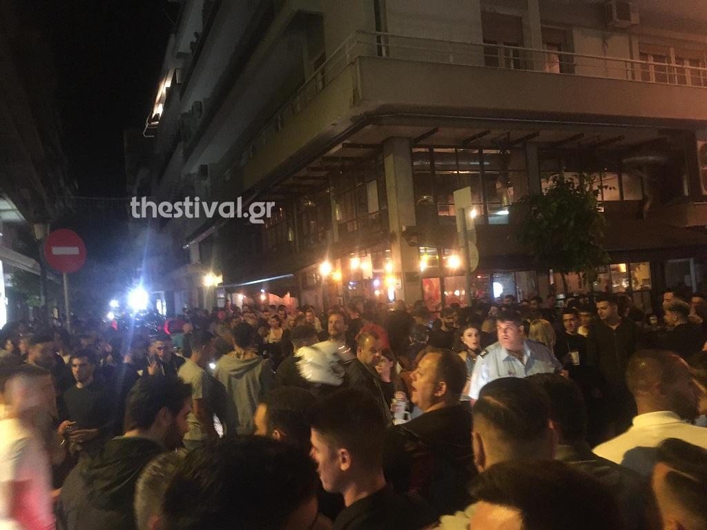 Θεσσαλονίκη: Ξυλοδαρμοί σε πάρτι με take away ποτά (video)