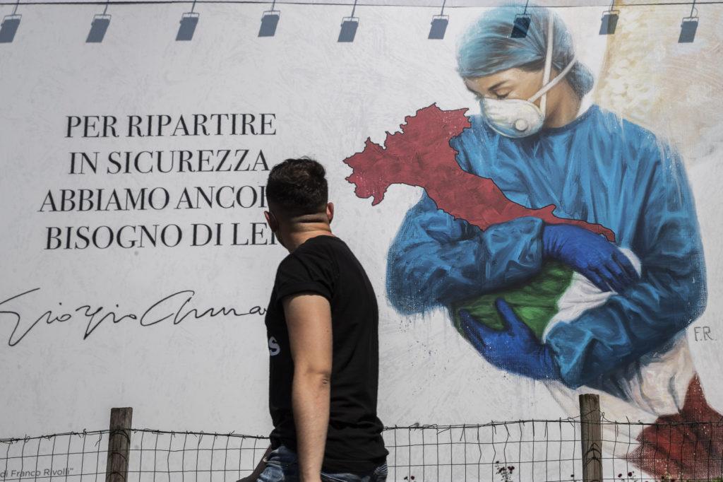 Ιταλία: Μειώθηκαν οι νεκροί του κορονοϊού, αλλά αυξήθηκαν πάλι τα κρούσματα