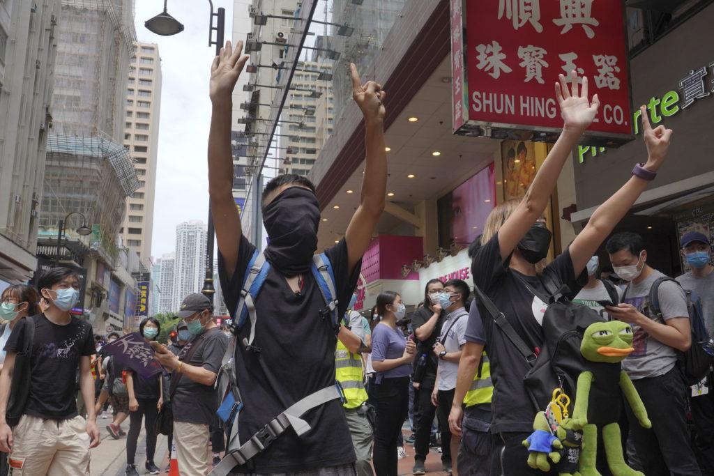 Χονγκ Κονγκ: Χιλιάδες διαδηλωτές στον δρόμο κατά του νόμου για την εθνική ασφάλεια (Photos)
