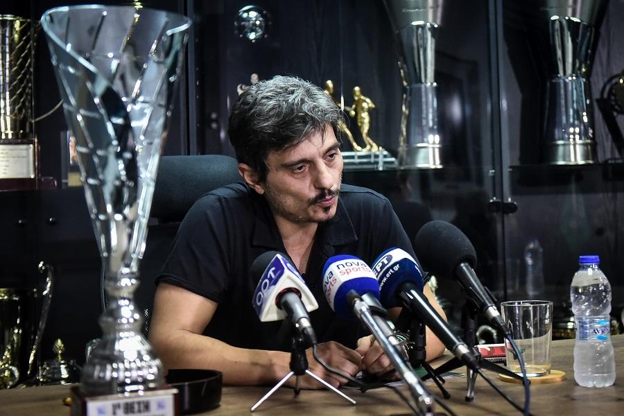 Γιαννακόπουλος: Τα λέει όλα σε συνέντευξη Τύπου