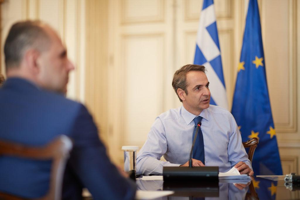 Μητσοτάκης: Mεγάλη ευκαιρία για την Ευρώπη και για την χώρα το πρόγραμμα της ΕΕ