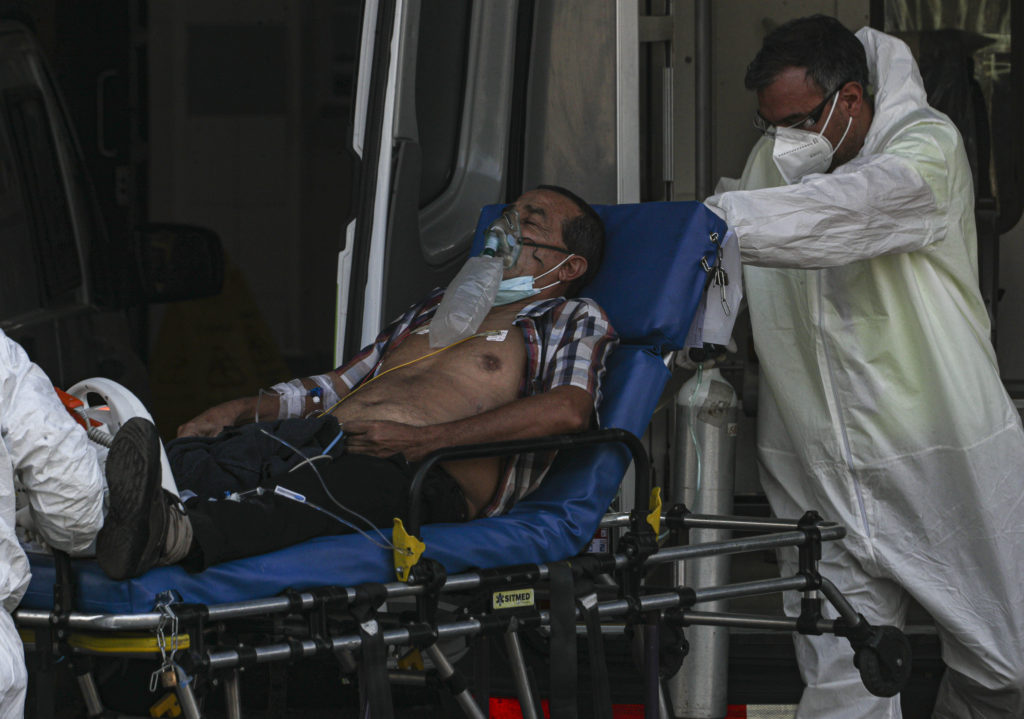 Κορονοϊός: Θλιβερό ρεκόρ θανάτων στη Χιλή