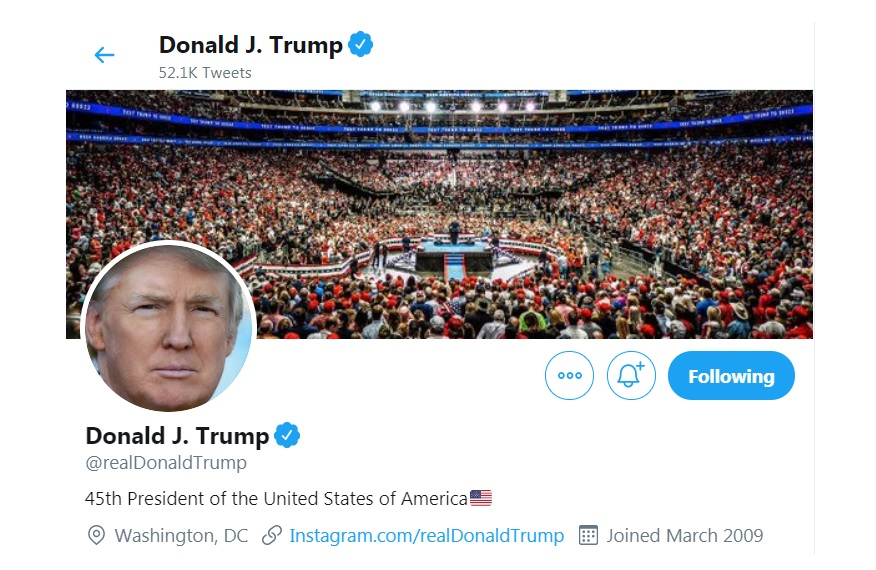 Ο «πόλεμος» Τραμπ με Twitter συνεχίζεται – Νέα επεισόδια!