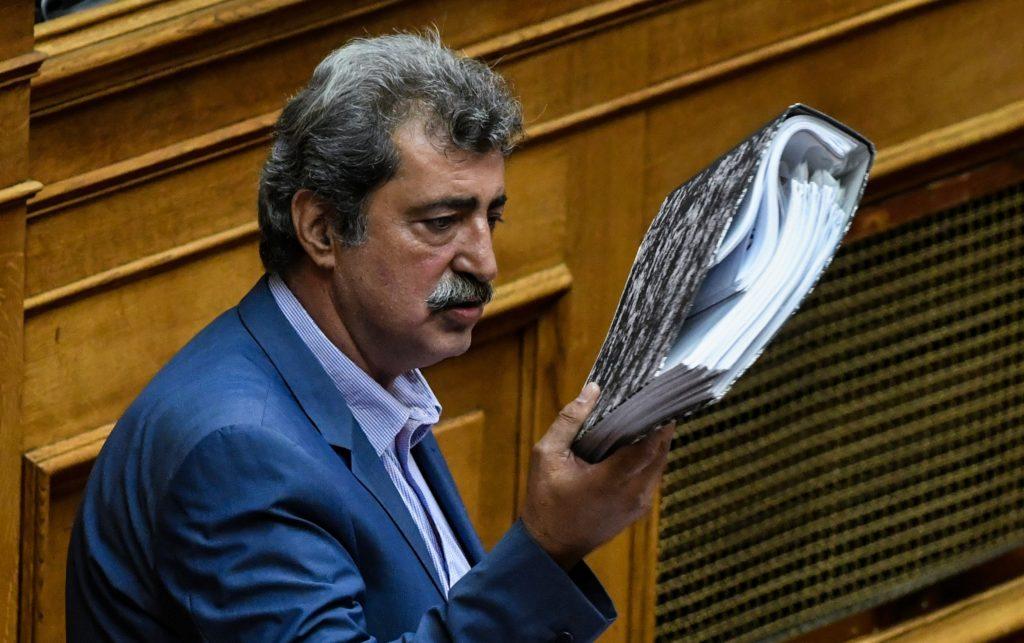 Πολάκης: Τα αίσχη στο υπουργείο Μεταναστευτικής Πολιτικής του Μηταράκη συνεχίζονται