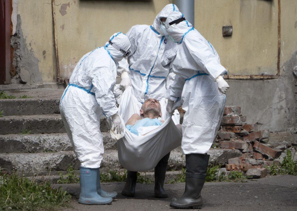 Ρωσία:  Άλλοι 169 θάνατοι από κορονοϊό το τελευταίο 24ωρο