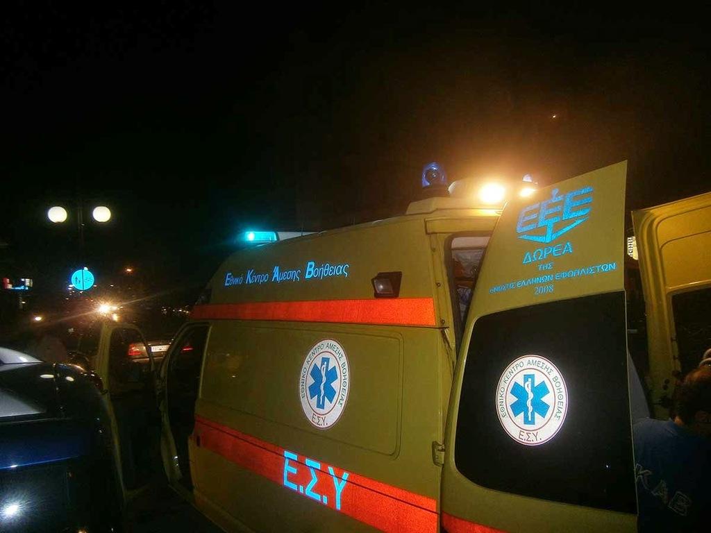 Τραγωδία με 33χρονο δικυκλιστή στη Νάουσα: Ξεψύχησε λίγα μέτρα από το νοσοκομείο