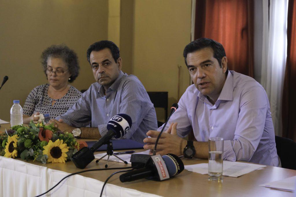 Τσίπρας: Η κυβέρνησή μας δεν παρέδωσε χάος ούτε άδεια ταμεία (Video)