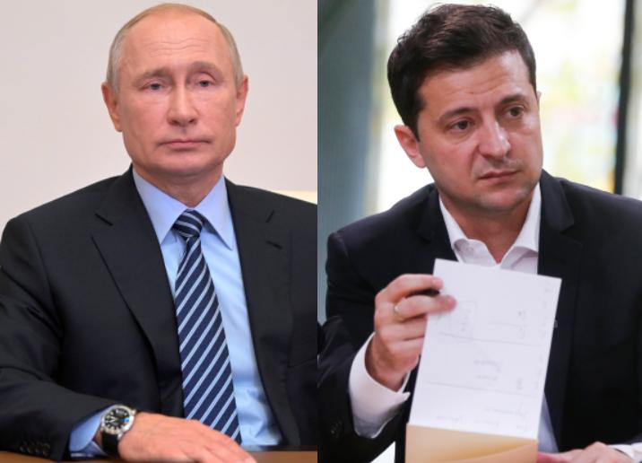 Πούτιν – Ζελένσκι τα είπαν τηλεφωνικά για την ανατολική Ουκρανία