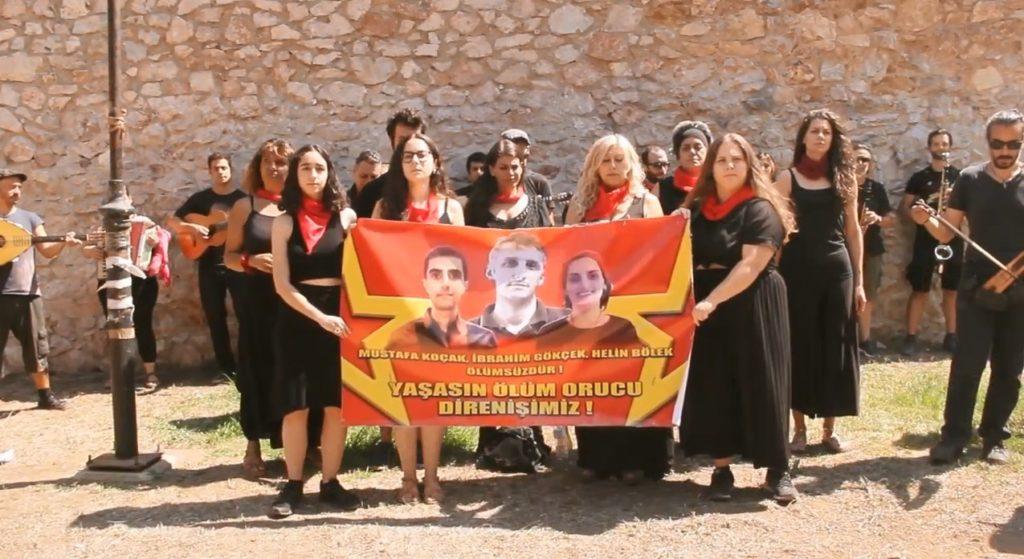 Αλληλέγγυοι μουσικοί αποδίδουν στα ελληνικά κομμάτι – ορόσημο του Grup Yorum (Video)