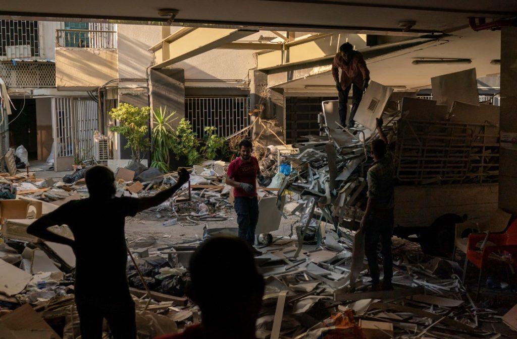 Βηρυτός: Πάνω από 15 δισεκατομμύρια δολάρια το ύψος των ζημιών από τις εκρήξεις